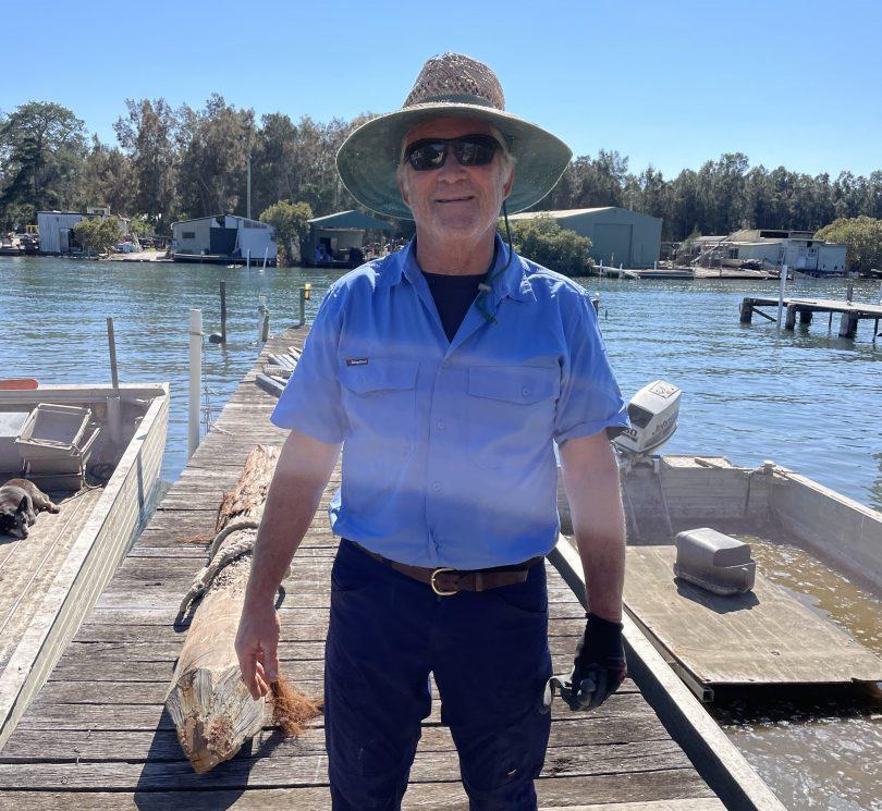 Kevin McAsh, owner of McAsh Oysters