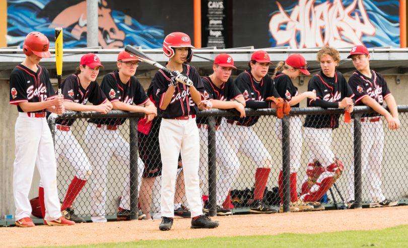 Eagles Baseball Club's Colts team
