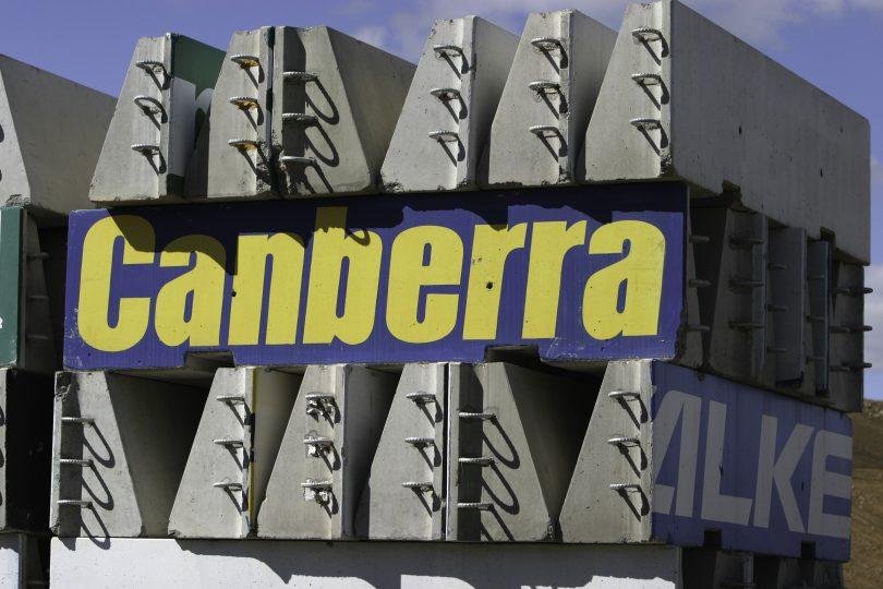 Canberra GMC 400 bollards