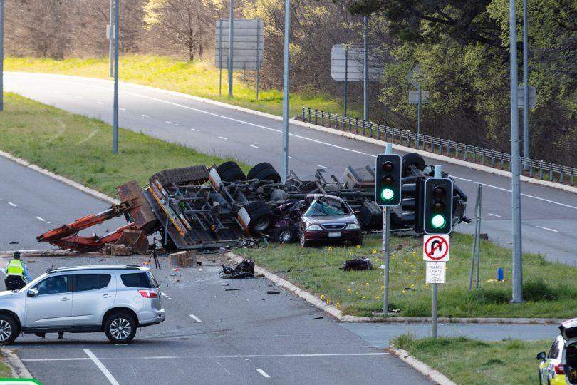 Barton Highway accident