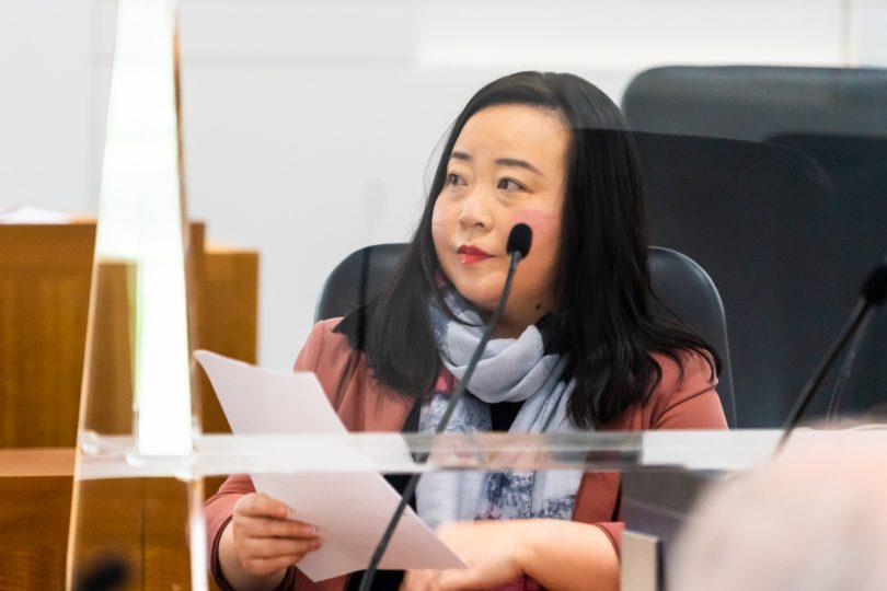 ACT Opposition Leader Elizabeth Lee