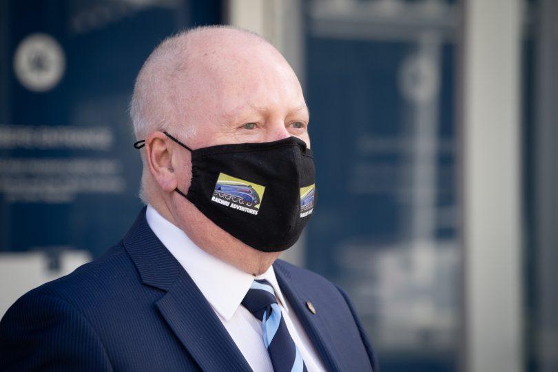 Corrections Minister Mick Gentleman