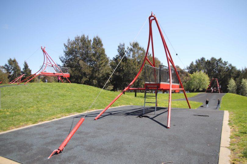 Yerrabi Pond District Park playground