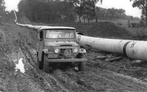 The story of the Toyota LandCruiser, the car that built Australia's engineering wonder