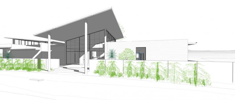 Proposed crematorium lounge
