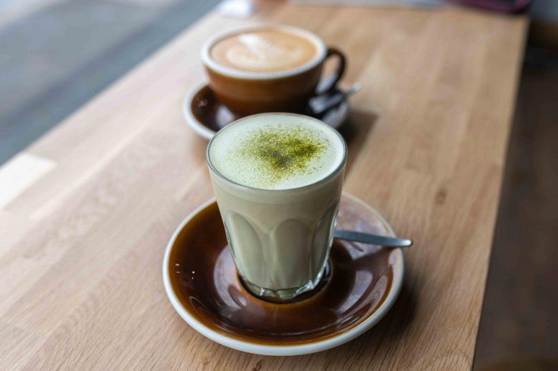 Matcha chai