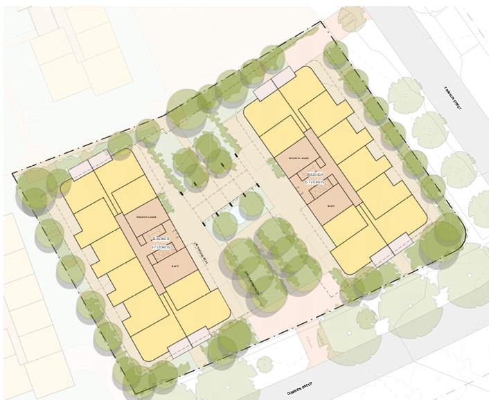 Masterplan for Forrest development