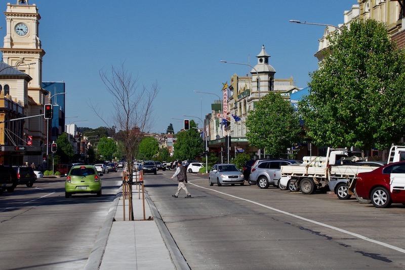 Auburn Street in Goulburn