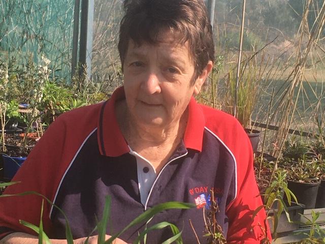 Helen Morgan at Growing Abilities nursery