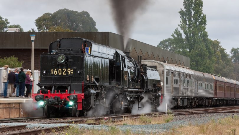 'City of Canberra' train