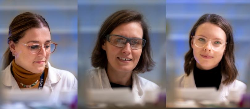 Dr Annamaria DeRosa, Dr Caitlin Byrt and Dr Samantha McGaughey