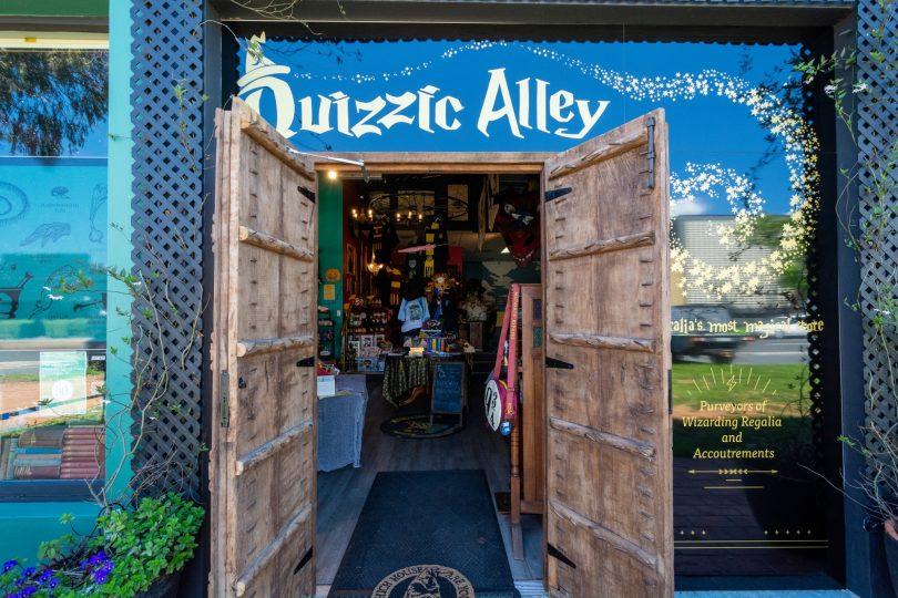 Quizzic Alley shopfront