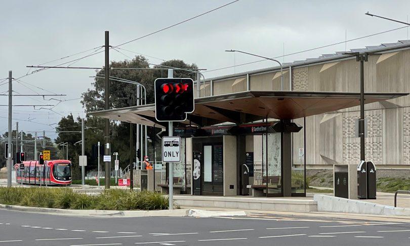 Sandford Street light rail stop