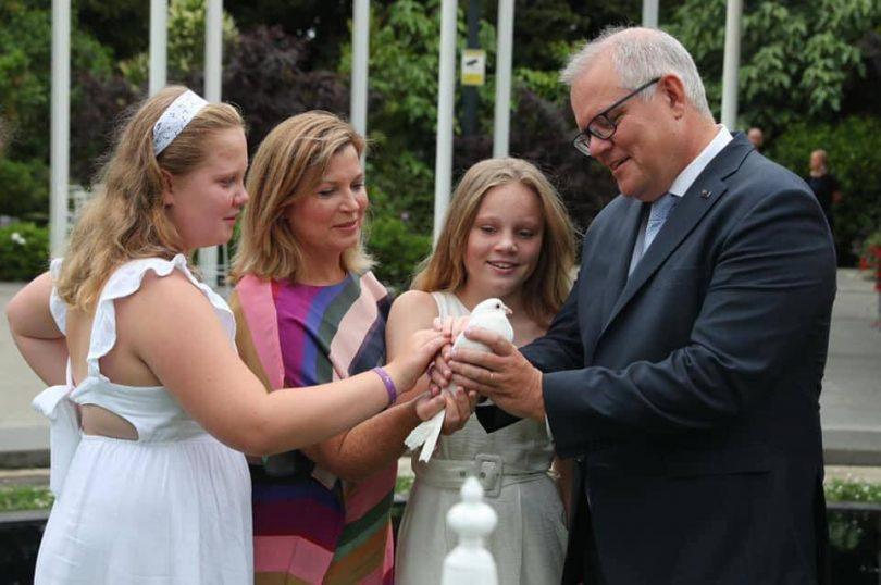 Scott Morrison and family