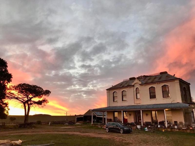'Teneriffe' house on property near Goulburn