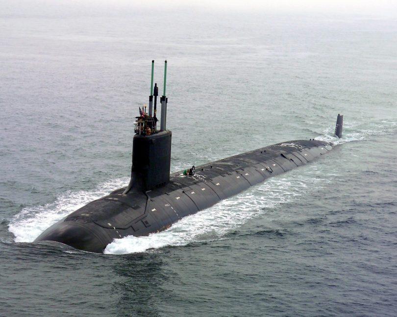 Virginia class US nuclear powered submarine
