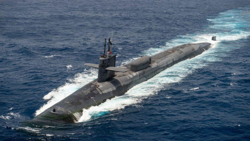 A US nuclear-powered submarine