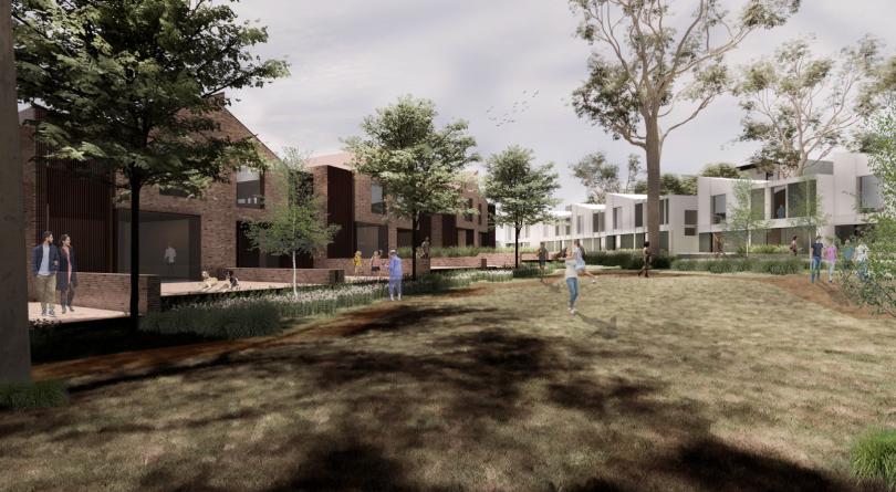 Weston Village render