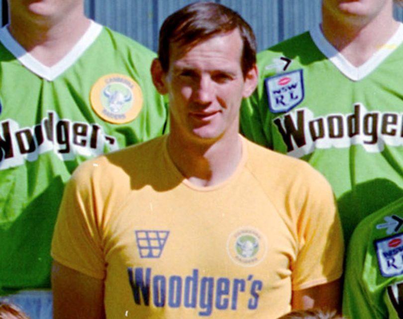 Wayne Bennett at Canberra Raiders in 1987