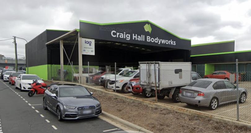 Craig Hall Bodyworks