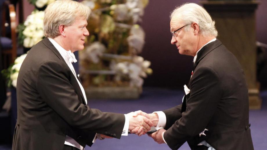 Professor Brian Schmidt receives the 2011 Nobel Prize for Physics