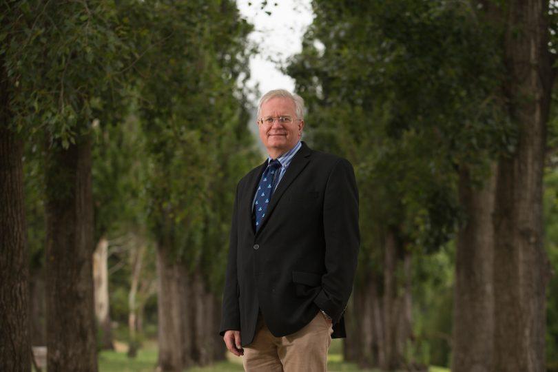 ANU Vice Chancellor Brian Schmidt