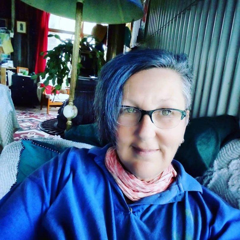 Kathleen McCann, getting beyond the blue. Photo: Kathleen McCann.