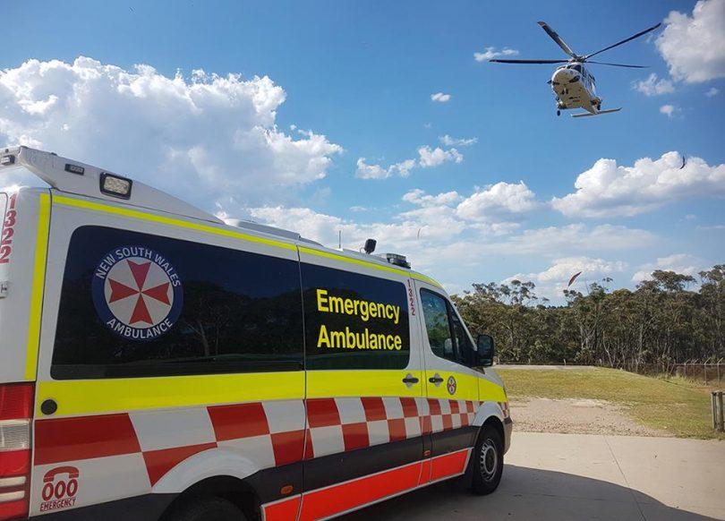 File photo, NSW Ambulance Service.