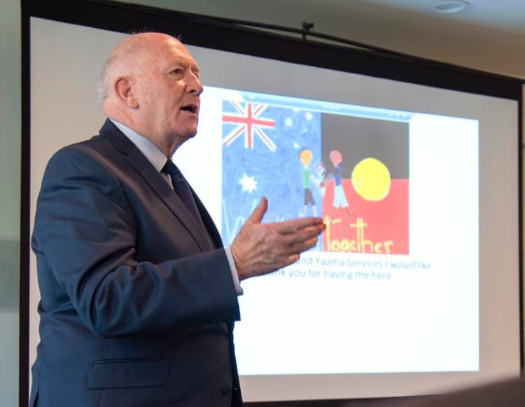 Governor-General, Sir Peter Cosgrove. Photo: Governor-General Facebook page.