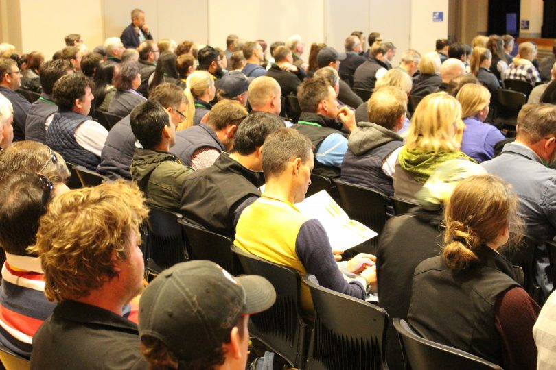 Around 150 people are taking part in the two-day Dairy Research Foundation's 2019 Symposium in Bega. Photo: Ian Campbell.
