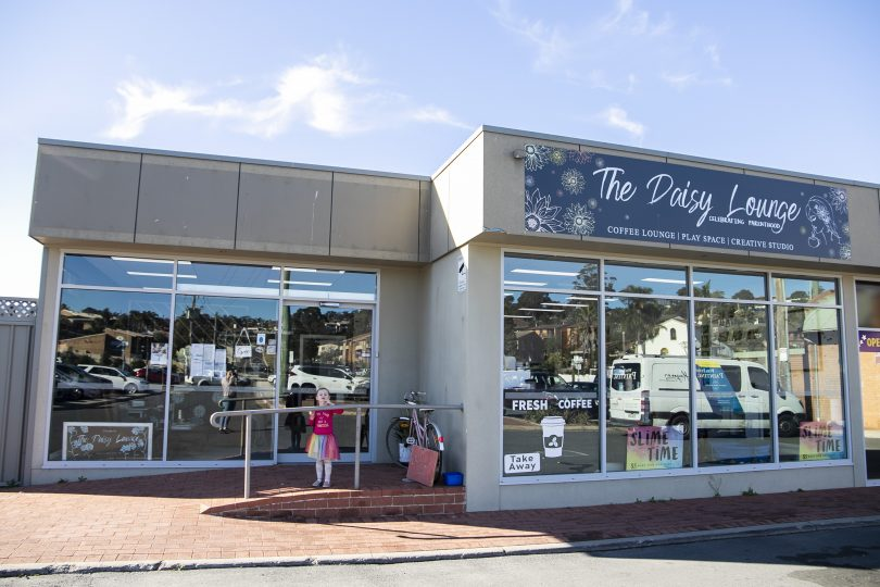 Open for 18 months in Merimbula, The Daisy Lounge moved to their new shopfront last month. Photo: Supplied.
