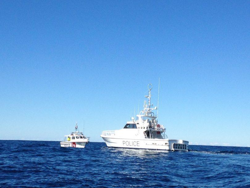 """It was a fantastic multi-agency response."" Photo: Marine Rescue Merimbula Facebook."