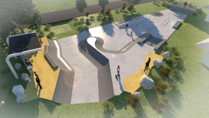 Braidwood skate park