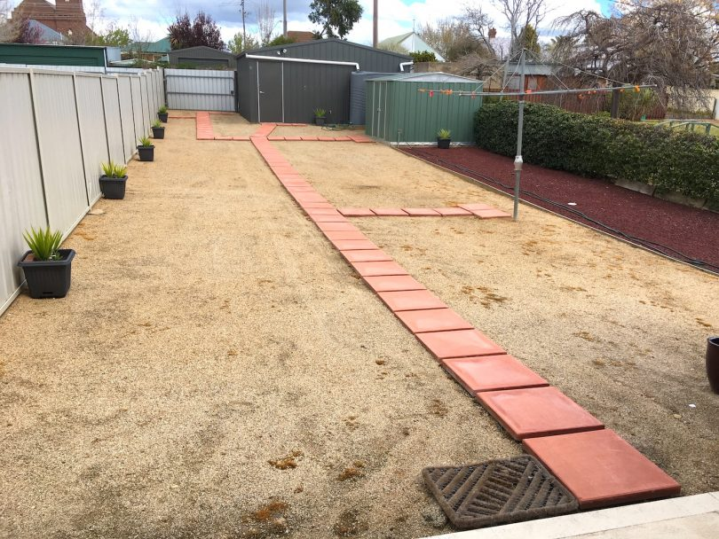 Large, low-maintenance yards with ample room for veggie gardens. Photo: Supplied.