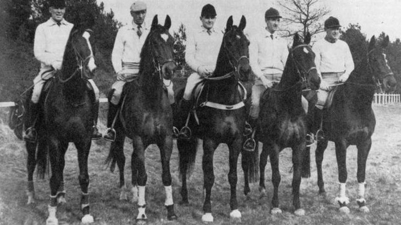 Rome 1960 Australian Equestrian Eventing Team