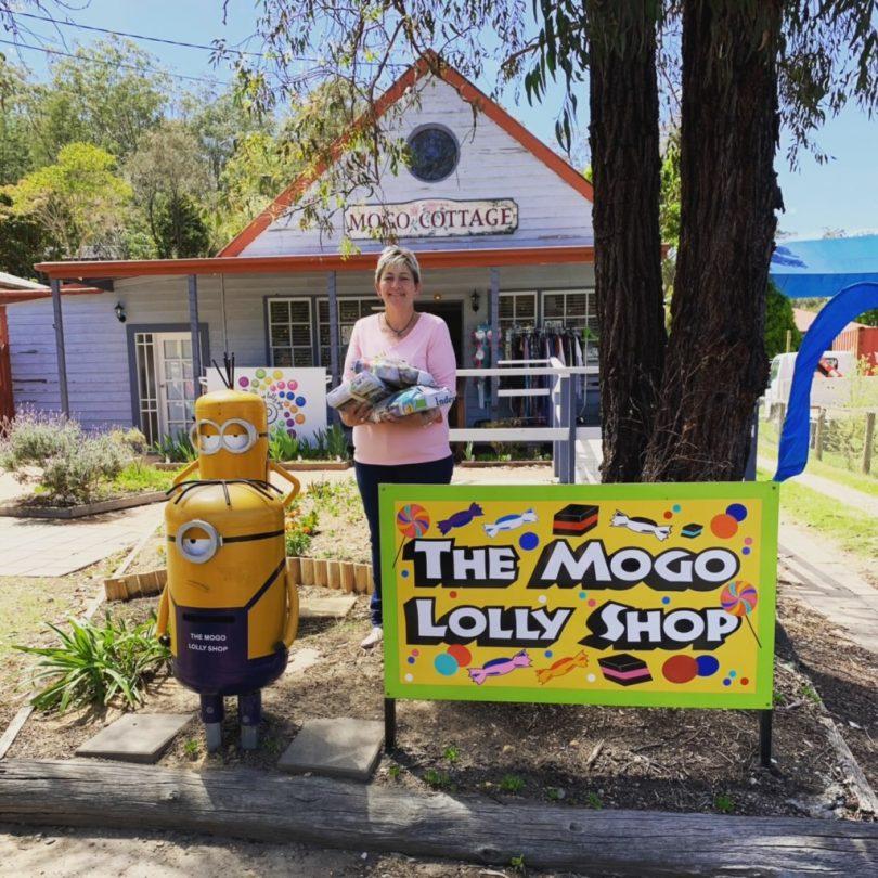Mogo Lolly Shop owner Theresa Matthews