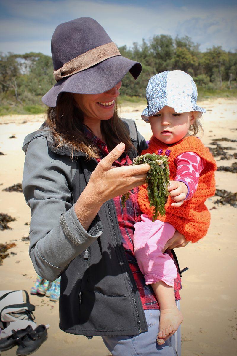 Regina Knobel and daughter Lotte