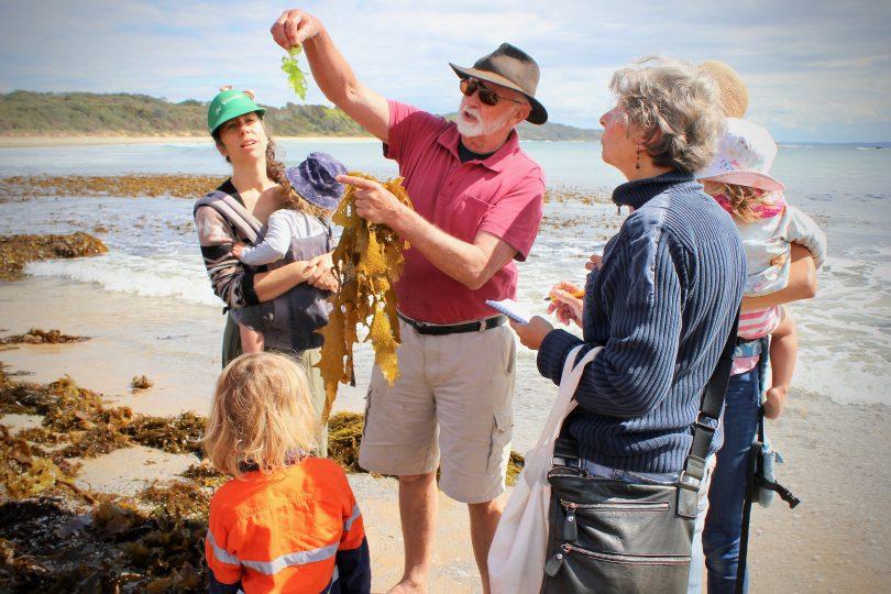 Seaweed workshop attendees