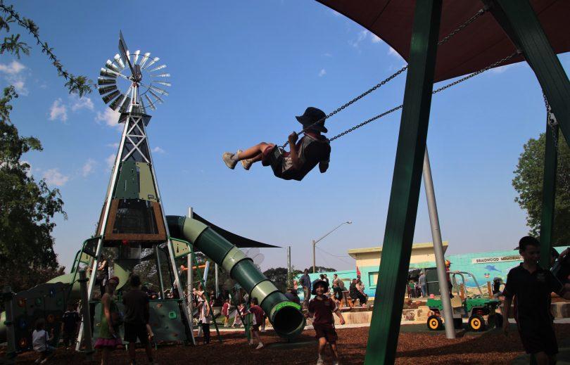 Braidwood playground