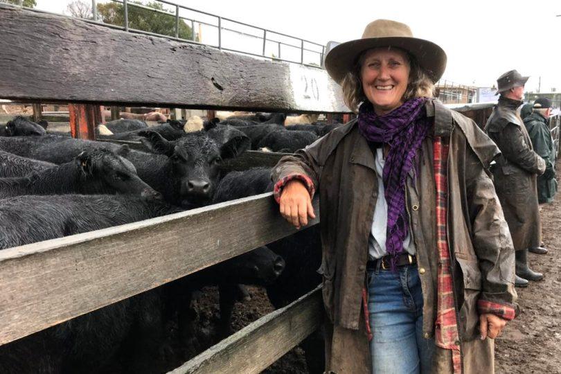 Victoria Royds of Clarevale Holistic Farm Braidwood