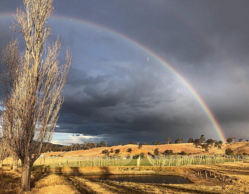 Rainbow over Bemboka