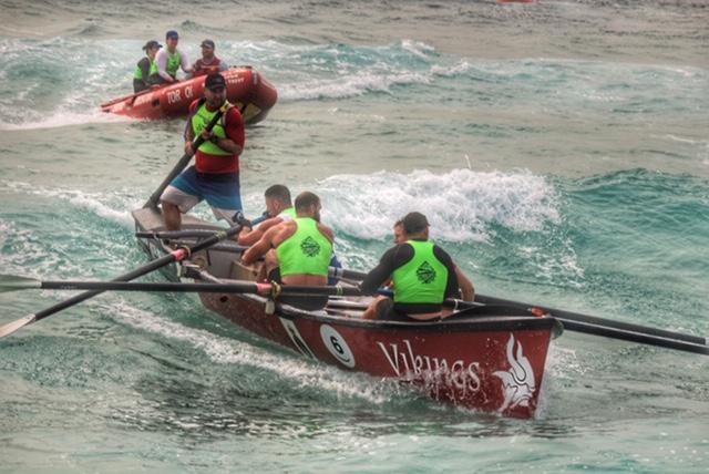Canberra Vikings crew in George Bass Surfboat Marathon
