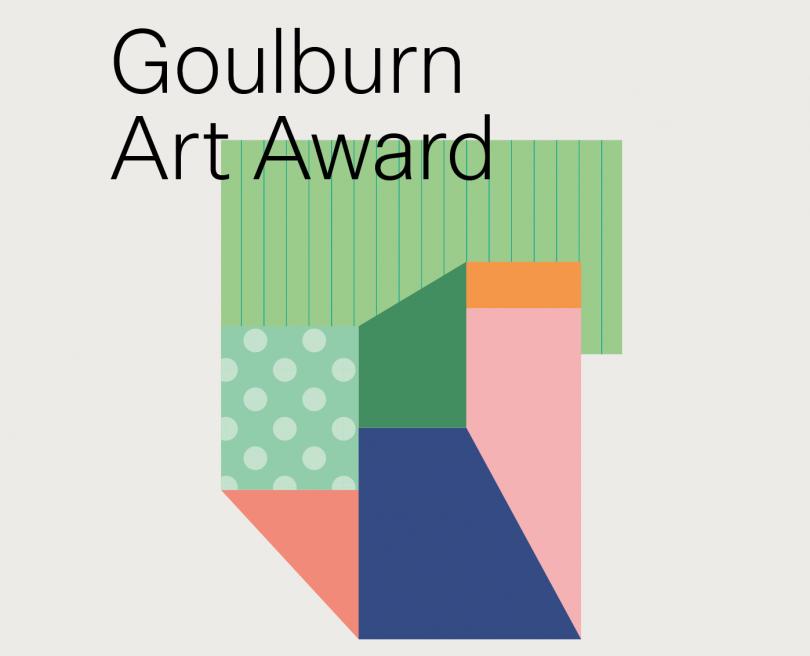 Goulburn Art Award logo.