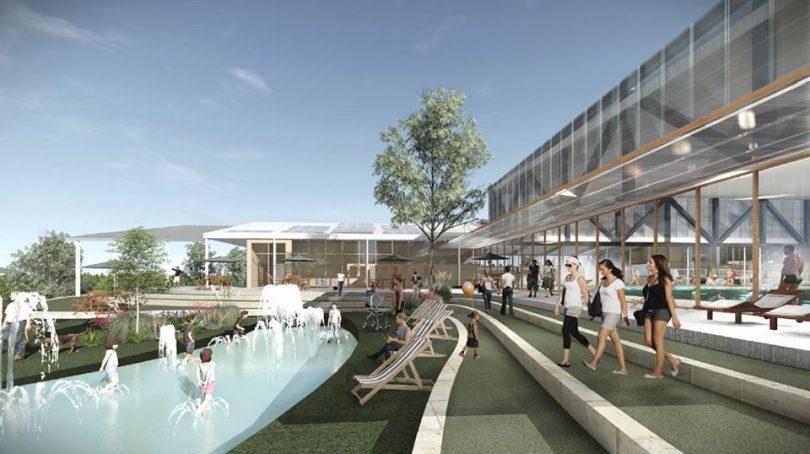 $30 million aquatic centre
