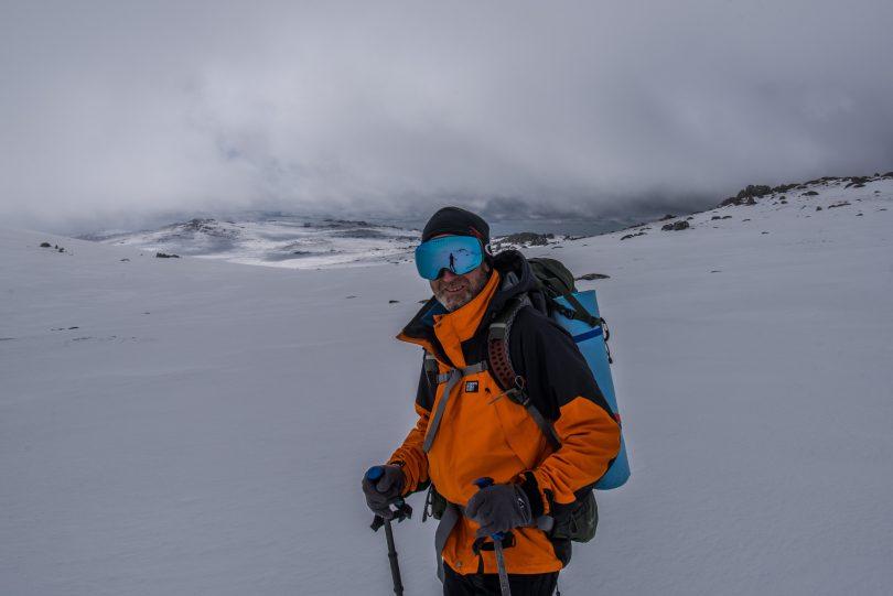 K7 Adventures' senior backcountry guide Jeff Becker.