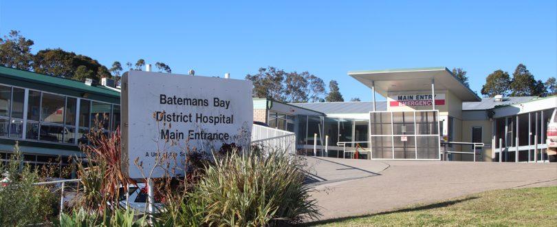 Exterior of Batemans Bay District Hospital.