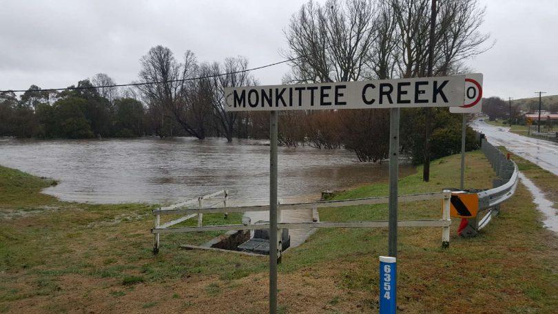 Monkittee Creek at Braidwood
