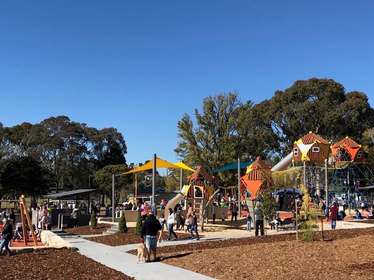 Goulburn Adventure Playground at Victoria Park.