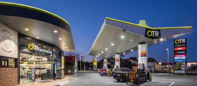 OTR petrol station.