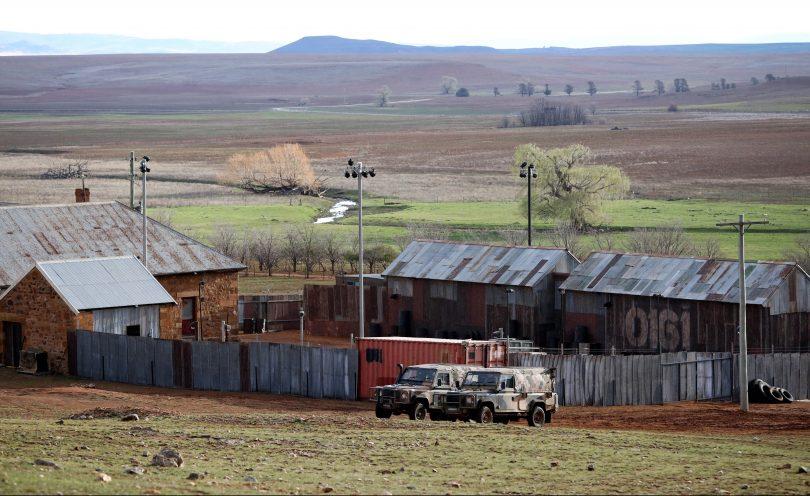 SAS Australia camp.